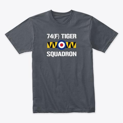 74(F) `tiger` Squadron T Shirt Heavy Metal T-Shirt Front