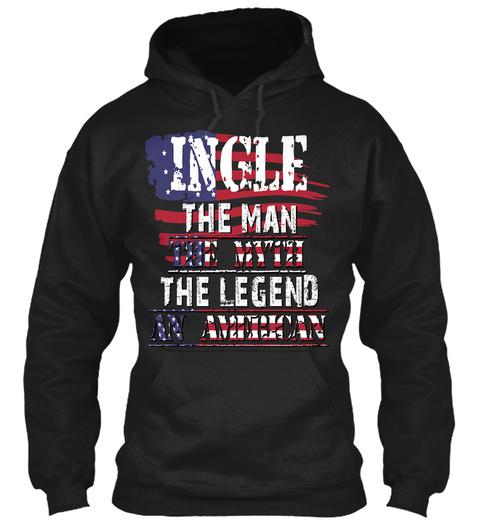 Ingle  Black Sweatshirt Front
