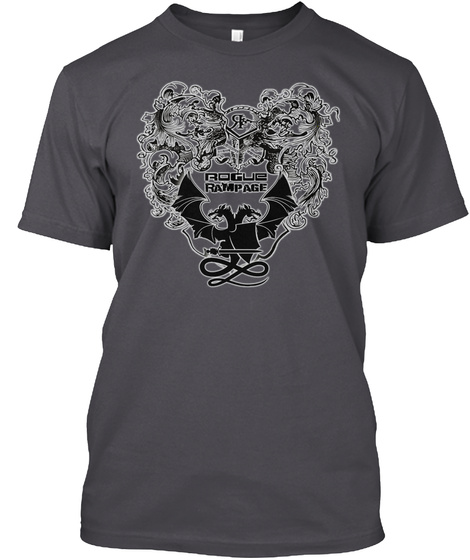 Rogue Rampage Asphalt T-Shirt Front