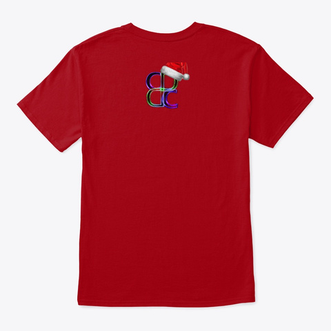 Cd Dance Collective Holiday 2019 Deep Red T-Shirt Back