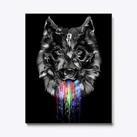 Beautiful Wild Wolf Standard T-Shirt Front