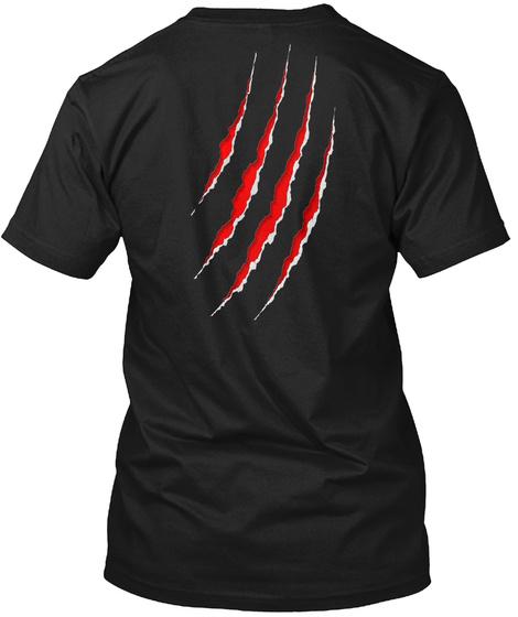 Cujos Crypt Radio.Com Black T-Shirt Back