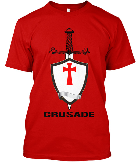 Crusade Classic Red T-Shirt Front