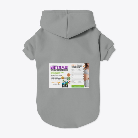 Keto For You Grey T-Shirt Back