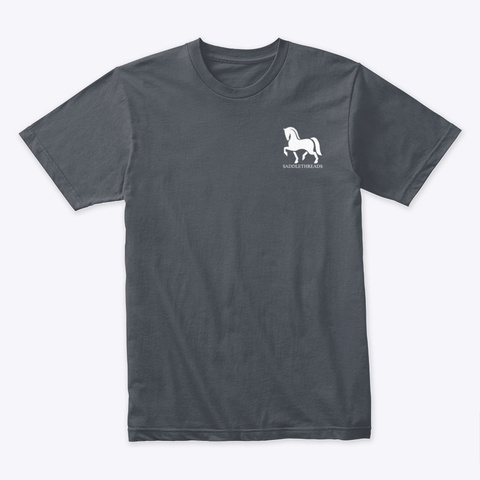 Hackney Pony   Gifts Heavy Metal T-Shirt Front