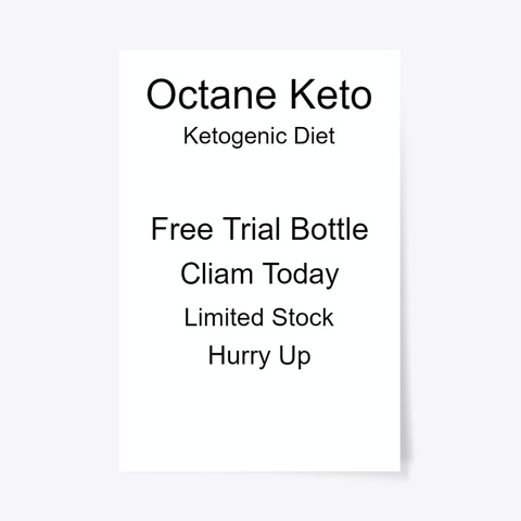 Octane Keto® Diet || Official Store Standard T-Shirt Front
