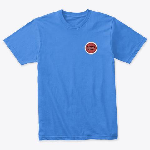 Texas Pride | Pixel Art Vintage Royal T-Shirt Front