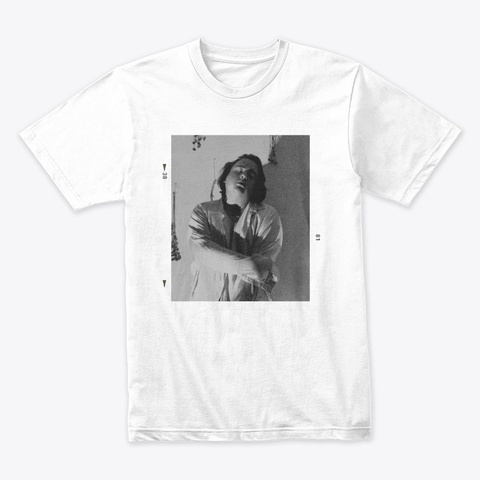 Black And White Photo Tee White T-Shirt Front