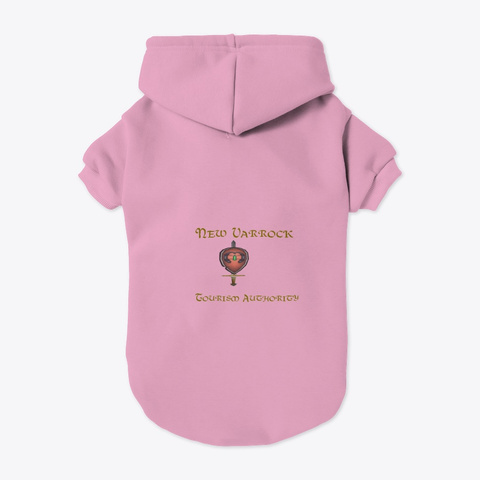 New Varrock Tourism Authority Light Pink T-Shirt Back