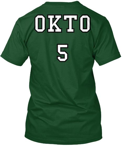 Okto 5 Deep Forest T-Shirt Back