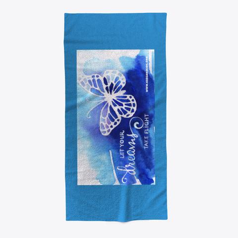Keegan's Kids Blue Towel Denim Blue T-Shirt Front