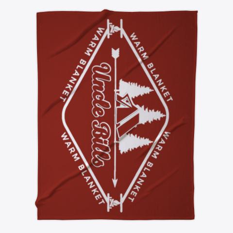 Bills Warm Blanket Dark Red T-Shirt Front