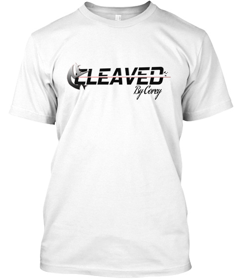 Cleaved By Corey White T-Shirt Front
