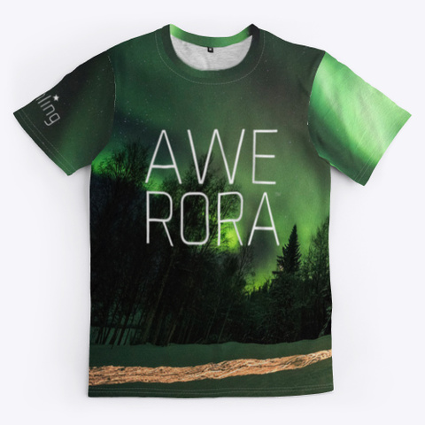 Northling™ Awe Rora Cabin Standard T-Shirt Front