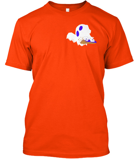 World Champion Orange T-Shirt Front