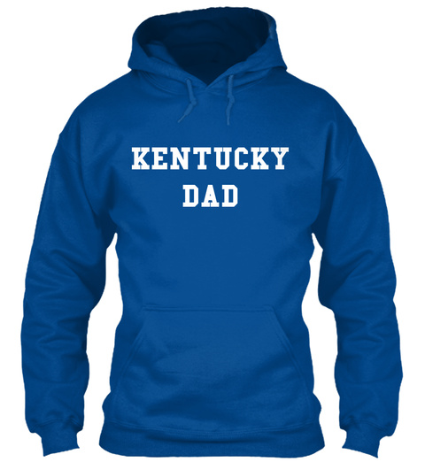 Kentucky Dad Royal T-Shirt Front