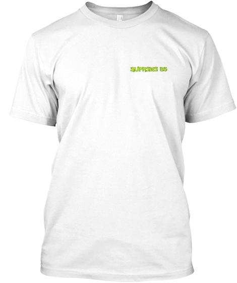 T Shirt C'est Pas Rp White T-Shirt Front