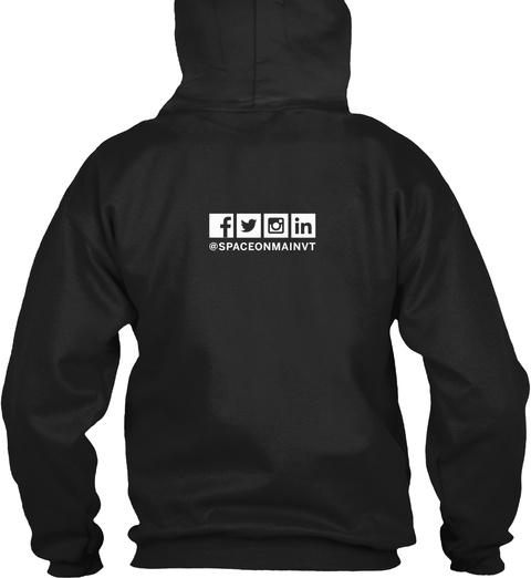 Som Kc Make Stuff Hoodie Black T-Shirt Back