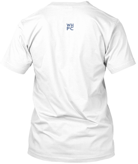 Wh Pc White T-Shirt Back