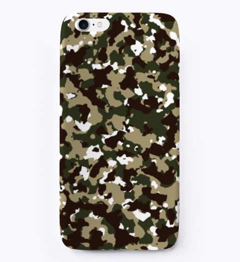 Camo Iphone Case Standard T-Shirt Front