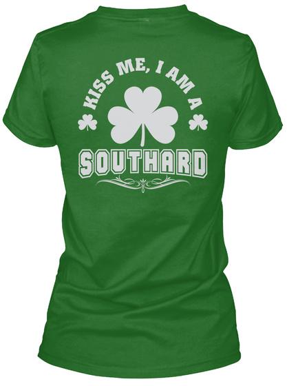 Kiss Me I Am Southard Thing T Shirts Irish Green T-Shirt Back