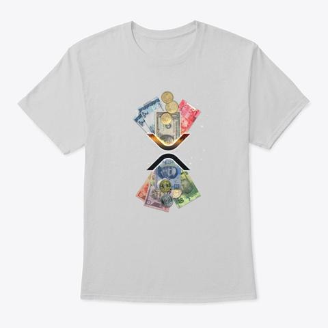 Xrp Transfer   Light Light Steel T-Shirt Front