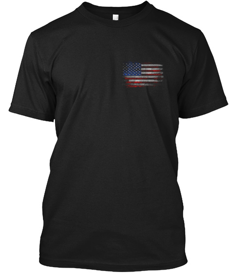 Stand For Our National Anthem Black T-Shirt Front