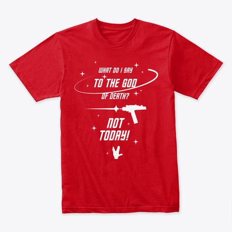 Brave Redshirt 👽 #Sfsf Red T-Shirt Front