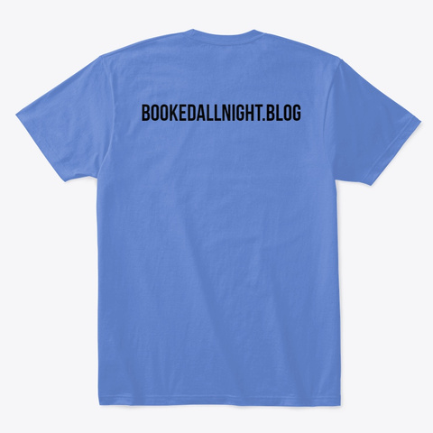 Books Books Books Books Heathered Royal  T-Shirt Back