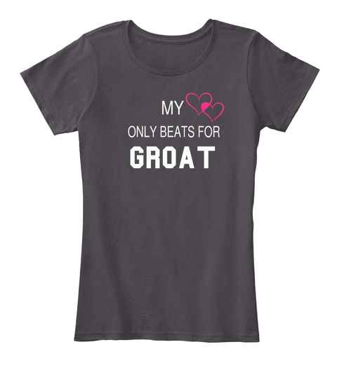 My Only Beats For Groat Heathered Charcoal  T-Shirt Front