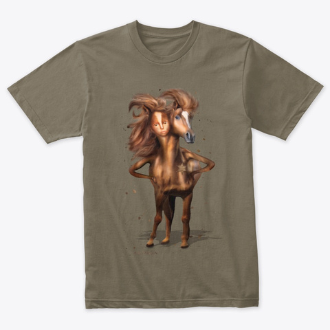 Gamigin The Marquis  Venetian Gray T-Shirt Front