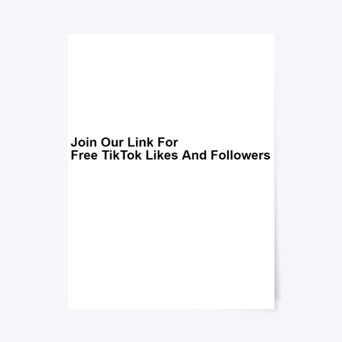 ®[Approved] ¶¶Free Tik Tok  Likes 2020 Standard T-Shirt Front