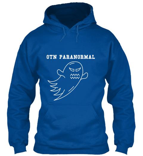 Otn Paranormal  Royal T-Shirt Front