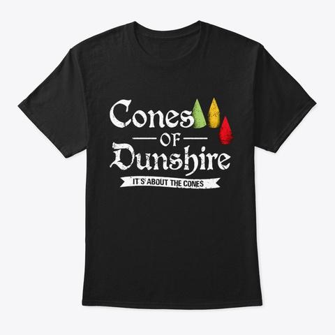 Cones Of Dunshire Shirt Black T-Shirt Front