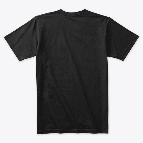 Humulus Lupulus 3 Black T-Shirt Back