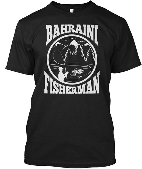 Bahraini Fisherman T Shirts Black T-Shirt Front