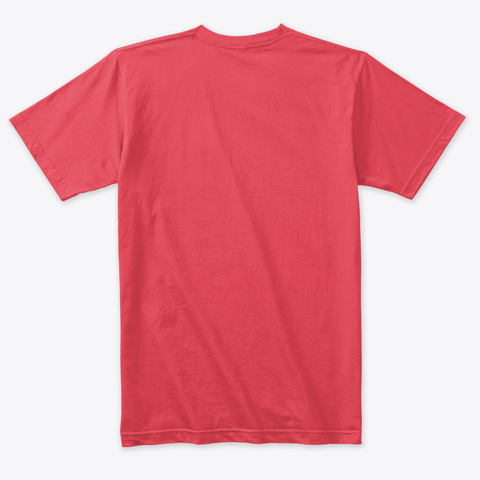 Having Vintage Red T-Shirt Back