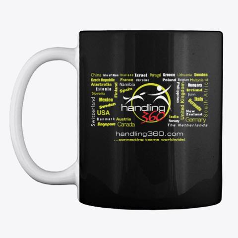 H360 Hoodies, Tees And Mugs Black T-Shirt Front