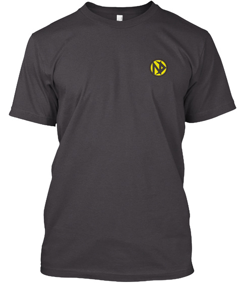 Narcotics Anonymous T Shirts New Version Heathered Charcoal  T-Shirt Front