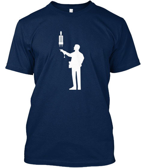 Falconer 4 Man [Int] #Sfsf Navy T-Shirt Front