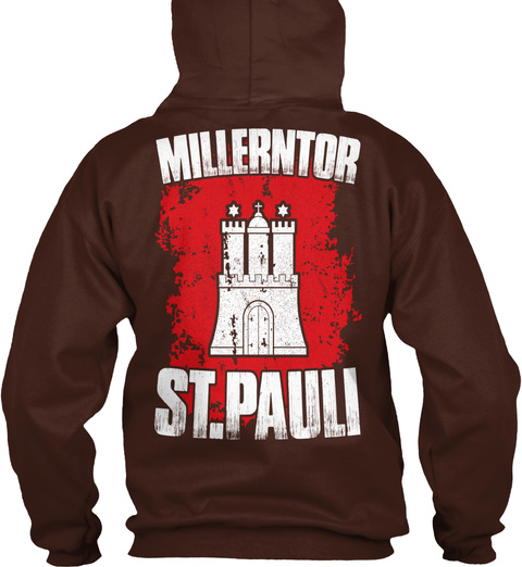 Millerntor St.Pauli Hot Chocolate Sweatshirt Back
