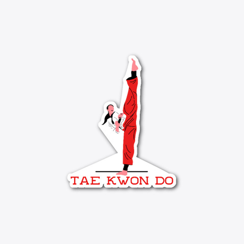 Taekwondo Standard T-Shirt Front