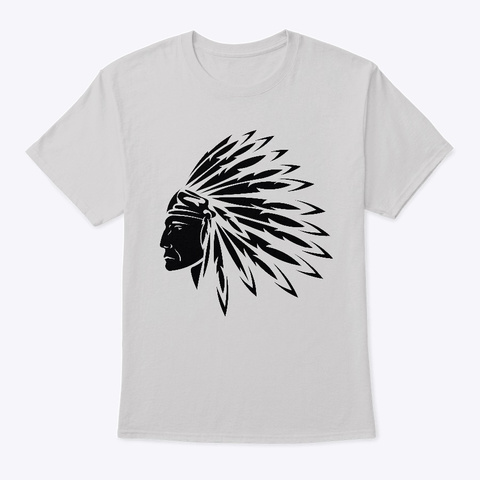Native American Heritage Iii Light Steel T-Shirt Front