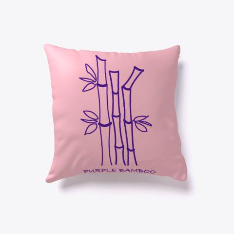 Purple Bamboo Pink T-Shirt Back