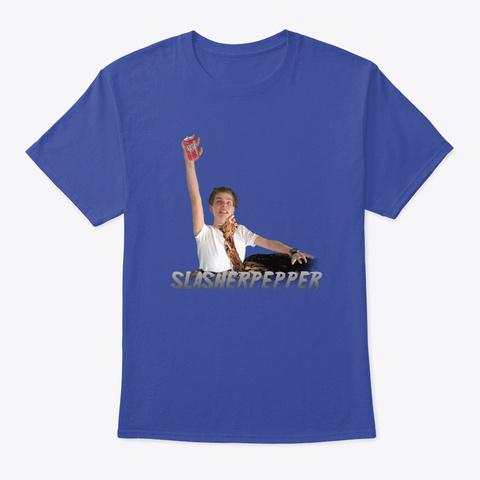 Evil Slasher Pepper Deep Royal T-Shirt Front