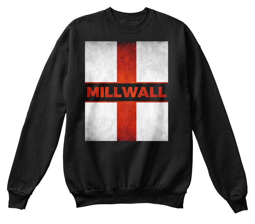 Millwall England English Flag Vintage Hanes Unisex Crewneck Sweatshirt 2841c9cb2