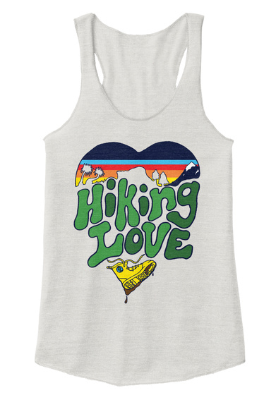 Hi King Love Eco Ivory  Women's Tank Top Front