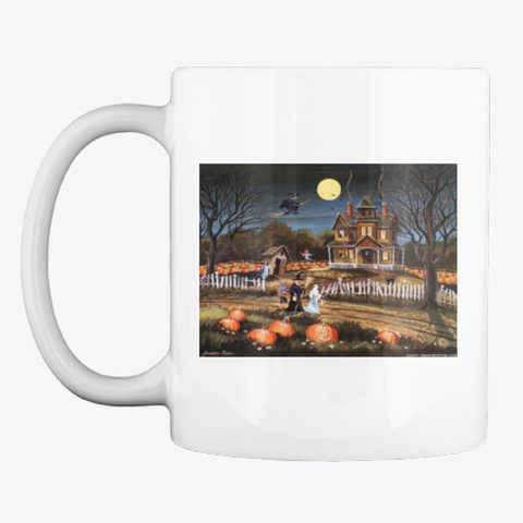 Collection Halloween Mugs White T-Shirt Front