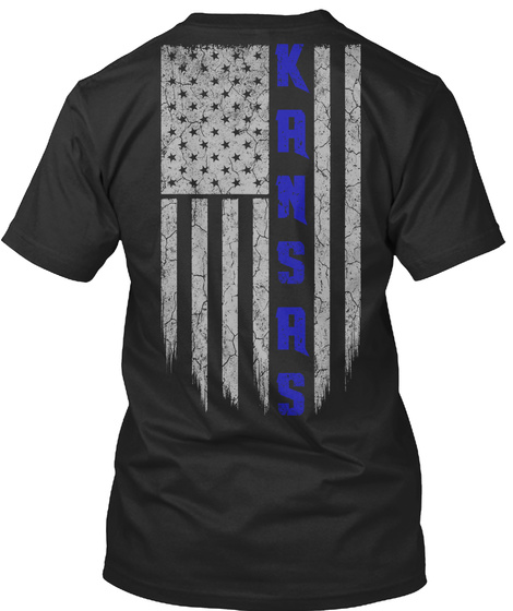 KS-KANSAS THIN BLUE LINE SweatShirt