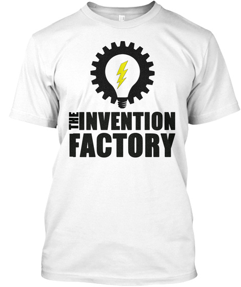 The Invention Factory T Shirt White T-Shirt Front